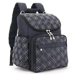 Diaper Bag Fashion Mummy Maternity Nappy Bag Brand Baby Travel Backpack Diaper Organizer Nursing Bag For Baby Stroller Black Diaper Bag, Best Diaper Bag, Large Diaper Bags, Baby Diaper Bags, Large Bags, Nappy Bags, Nylons, Mochila Jeans, Fashionable Diaper Bags