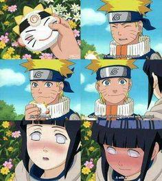 Naruto le dice a hinata que será una buena esposa !