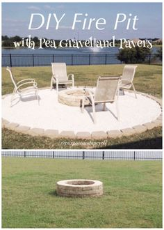 DIY Fire Pit with Pe