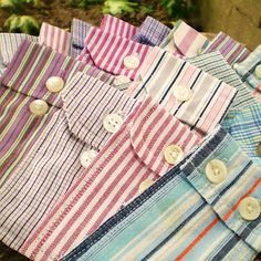 Buy men's shirts from thrift stores and remove pockets and apply to tee shirts