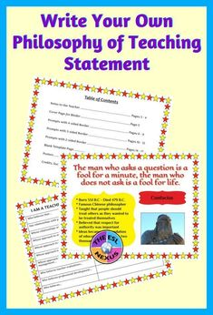 11 Best Teaching statement images in 2018 | Teaching