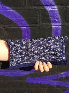 Sashiko Clutch // Wren and Company
