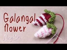 how to crochet galangal flower tutorial for beginner Crochet Baby Boots, Crochet Mittens, Crochet Gifts, Crochet Scarves, Crochet Flower Headbands, Crochet Flowers, Crochet Crown, Fabric Flower Brooch, Fabric Flowers
