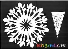 Paper Snowflake Designs, Paper Snowflake Template, Paper Snowflakes, Christmas Crafts For Kids To Make, Holiday Crafts, Christmas Diy, Paper Cut Design, Art Drawings For Kids, Pom Pom Crafts