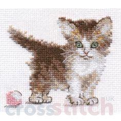 CrossstitchUK Little Kitty