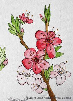 Watercolor Flowers, Kellee Wynne Conrad