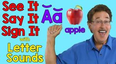 Learn sign language for each letter and the letter sounds for each letter of the alphabet. Jack shows the sign for each letter and the letter sounds for each. Sign Language Songs, Sign Language Alphabet, Learn Sign Language, Teaching The Alphabet, Teaching Phonics, Learning Letters, Alphabet Activities, Classroom Activities, Preschool Activities