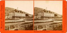 Tamalpais Hotel, San Rafael, Marin County, California, c.1870's, _  Charles Watkins photocard