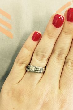 Woman Responds to Her Wedding-Ring Shamers With 1 Epic Facebook Post--I love this!