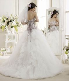 Wedding Dress Colet  COAB14104IVLL 2014