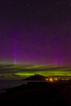 Northern Lights return to Donegal skies - RTÉ News