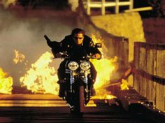 Mission Impossible 2. I've got the biggest crush on Ethan Hunt right now...