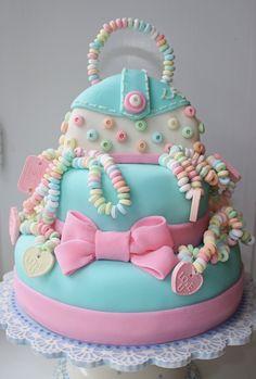 I made the cake too.