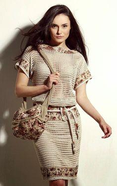 Crochetemoda: Vestido