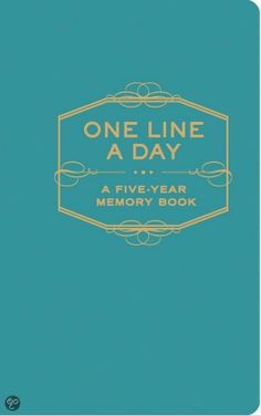 Got it! Love it! #onelineaday