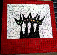 Kool Kats: Quirky Mosaic Art with Contemporary Flair of