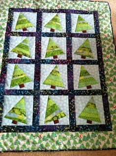 Christmas quilt. xx