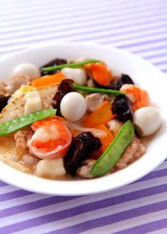 八宝菜 のレシピ・作り方 │ABCクッキングスタジオのレシピ | 料理教室 ... たっぷりの具材で彩りも栄養も満点です!ごはんや中華麺の上にかければ、丼ぶりや麺ものの出来上がり♪