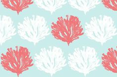 fabric_wish i could quit coral & seaweed but it draws me back over and over