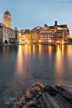 Vernazza by night by canotz93