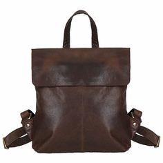 ESTELLE                      dámský kožený batoh                      1191                      hnědý