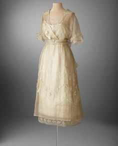 Lucile afternoon dress, 1919-20