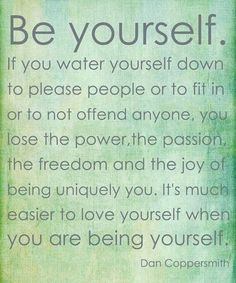 Be yourself❤️