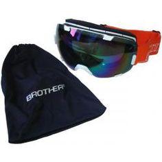 Lyžařské brýle s velkým zorníkem B298 - bílé Sunglasses, Products, Fashion, Feather, Moda, Fashion Styles, Sunnies, Shades, Fashion Illustrations