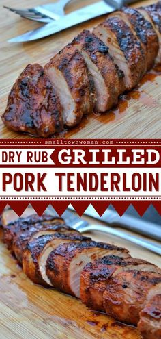 Thanks to helpful tips, this Dry Rub Grilled Pork Tenderloin comes out juicy and flavorful! This pork recipe is perfect for an easy grilling idea or summer bbq party idea. Pin this delicious recipe for dinner! Pork Recipes For Dinner, Summer Grilling Recipes, Grilling Tips, Summer Recipes, Easy Pork Tenderloin Recipes, Pork Dishes, Pasta, Main Dishes, Cooking Recipes