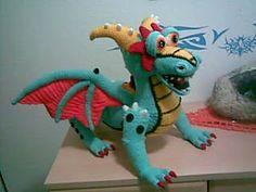 1500 Free Amigurumi Patterns: Krambambuli dragon amigurumi