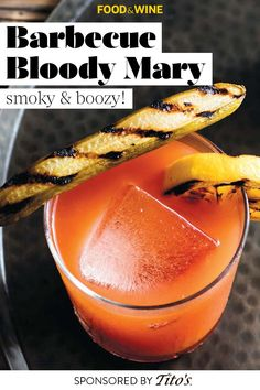 Fruity Cocktails, Refreshing Drinks, Cocktail Drinks, Yummy Drinks, Cocktail Recipes, Alcoholic Drinks, Bloody Mary Cocktail Recipe, Bloody Mary Recipes, Barbecue Recipes