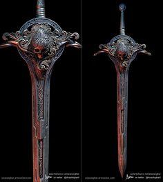 ArtStation - Skull Sword, Anas Asghar