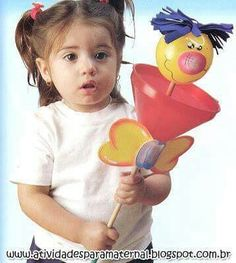 Atención Marionette Puppet, Puppets, Clown Crafts, Clowning Around, I School, Diy Paper, Craft Gifts, Gifts For Kids, Projects To Try