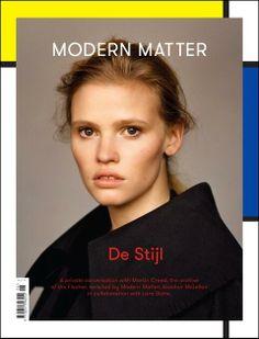 Modern Matter issue 6 – De Stijl: Lara Stone by Alasdair McLellan