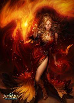 Fantasy Art Women, Dark Fantasy Art, Fantasy Girl, Phoenix Painting, Phoenix Art, Dark Phoenix, Fantasy Character Design, Character Art, Flame Art