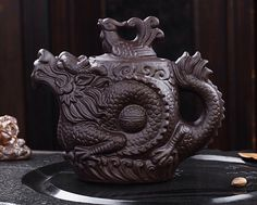 Traditional Chinese Dragon Teapot small //Price: $17.95 & FREE Shipping //     #tealover