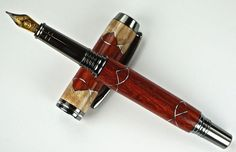 Handcrafted Wooden Pen Hand Turned Fountain by MikesPenTurningZ, $149.00
