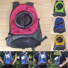 Pet Dog Carrier Travel Bag Pet front Carrier Bag Mesh Backpack Head out Carrier