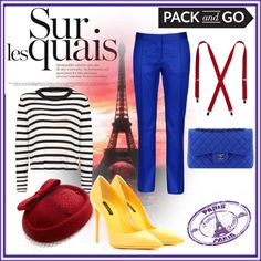 """Red hat"" by adymagb on Polyvore"