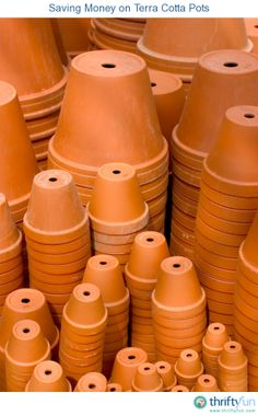 This is a guide about saving money on terra cotta pots. Terra cotta flower pots are popular for gardening and craft projects. Shopping around can often help get a better price.