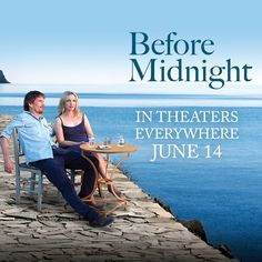 Richard Linklater, Julie Delpy and Ethan Hawke return after 'Before Sunrise' and 'Before Sunset' with the brand new 'Before Midnight'! Midnight Film, Before Midnight, Before Sunrise, Best Indie Movies, Indie Films, Before Trilogy, Marriage Is Hard, Julie Delpy, Dallas Buyers Club