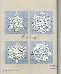 lace work four seasons 100: crochet magazine | make handmade, crochet, craft