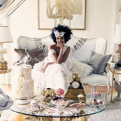 Are You High Glamour? If you think glimmer or shimmer is essential to an outfit and champagne is always in your fridge, you're High Glamour. We have the designer, vintage, and exclusive furnishings to help you live your style