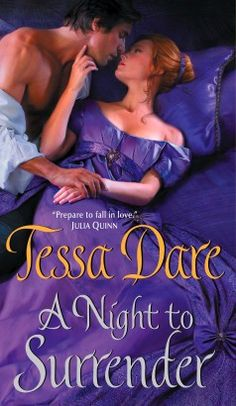 A Night to Surrender by Tessa Dare (Spindle Cove Series, Book 1)