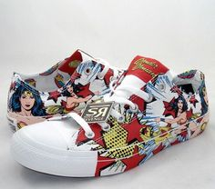 Converse Wonder Woman White All Star Shoes