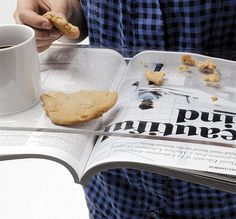 Translucent Reading Tray Keeps Newspapers Mess-Free [Pics] - PSFK