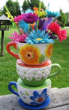 Ready to Ship  Bright & Colorful Oversized by EdieSChicCrafts, $49.00