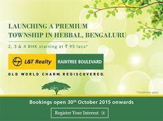 L&T Realty Raintree Boulevard Hebbal Bangalore