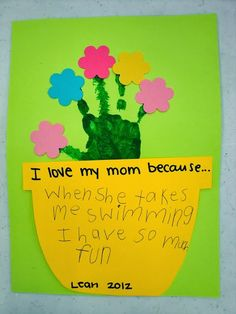 51 Mothers Day Craft Ideas for Kids