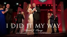 Sweet :) President Donald J. Trump and First Lady Melania Trump took the stage at the Liberty Ball and shared their first dance with Vice President Mike Pence and close family members, dancing t…